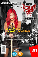 Diseo Red Phoenix Caratula Oficial (CarlosHerreraJevc) Tags: redphoenix evangelineivashov wordpress flickr fanartsjevc jevcupeditions photoshop evamarie wwedivas 1 2016 agosto russia usa wattpad rp jevcupeditions jevcoilerfics tm paris customscovers comics psddreams