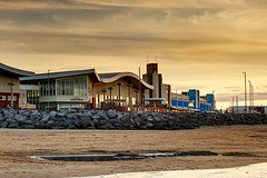New Brighton (Brian Sayle) Tags: briansaylephotography briansayle wallasey wirral newbrighton beach sand shoreline coastline coastal floralpavillion liverpool merseyside england unitedkingdom canonef70200mmf4l 70200mm canon70200mm 200mm 6d canon6d canoneos6d eos6d