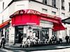 """""""E você nem legume é, porque até as alcachofras tem coração"""". (Expulsão de Paraísos) Tags: paris restaurante frança francês filmes destino fabuloso améliepoulain"""