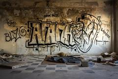 Drapetsona-Greece, abandoned fertilizer factory (Magganaris Manolis) Tags: graffiti nikon d7100 drapetsonagreece abandoned fertilizer factory 1685 love