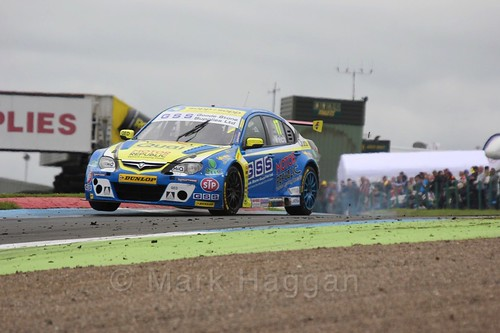 Dan Welch in BTCC race 2 during the Knockhill Weekend 2016