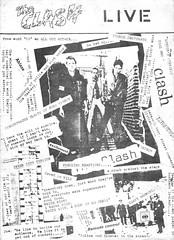 The Clash (stillunusual) Tags: garageland fanzine punkfanzine punkzine musicfanzine magazine musicmagazine punk punkrock clash theclash 1970s 1977