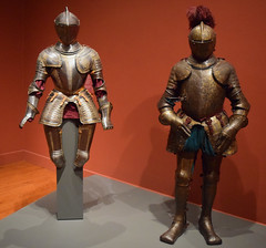 Suits of Armor (RockN) Tags: armor medievalweaponry 1500 worcesterartmuseum worcester massachusetts newengland