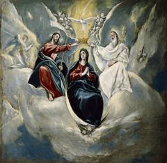 The Coronation of the Virgin (lluisribesmateu1969) Tags: 16thcentury virgin museonacionaldelprado madrid greco