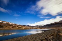 Fooled by a past that the world left behind (OR_U) Tags: 2016 oru iceland patreksfjrur landscape le longexposure tunng sky blue water lake