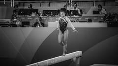 Concentrao / Concentration (Pablo Grilo) Tags: rio2016 rio2016olympics olympics olimpiada olimpiadas riodejaneiro blackandwhitephotography bw pb noir blackandwhitephoto bwphoto bwphotography fotografiaempb fotografiaempretoebranco fotografiapb lauriehernandez gymnastic ginasticaolimpica ginasticaartistica 55210 55210mm