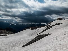 Lechtaler Alps with thunder storm (genelabo) Tags: heilbronner höhenweg mädelegabel rappenseehütte oberstdorf alpen mountains berge steinböcke steinbock ibex capricorn kemptner hütte alps biwak outdoor hiking murmeltier marmot snow schnee clouds wolken