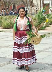 China Oaxaquena Woman Mexico (Ilhuicamina) Tags: oaxacan mujer woman mexicana mexico chinaoaxaquena clothing textiles ropa