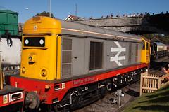 20132 xo TO (daveymills31294) Tags: 20132 class 20 hnrc gbrf swanage railway barrow hill depot