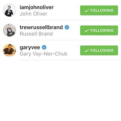 3 people i MUST meet before I die: @garyvee @trewrussellbrand @iamjohnoliver (povilasbrand) Tags: instagram povilasbrand quoteoftheday quotes quote realifequotes inspire goodvibes motivation positivity repost keepgoing getit stayfocused