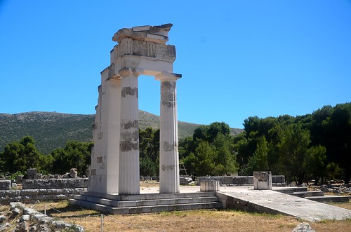 Sanctuary of Epidavros: Propylon