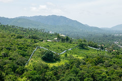 Koh Samui Jungle (MarcelStr) Tags: koh samui jungle dschungel wald natur nature thailand panorama himmel wolke clouds sky golf von surat thani ko mountain hill berge gebirge outdoor landschaft landscape