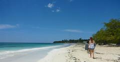 The local beach in Pedernales (little_duckie) Tags: bahiadelasaguilas pedernales dominicanrepublic republicadominicana caribbean beach laplaya