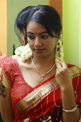 South Actress Madhuchandaphotos Set-3-Hot In Traditional Dress (42)
