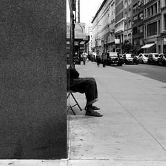 Mac (ShelSerkin) Tags: shotoniphone hipstamatic iphone iphoneography squareformat mobilephotography streetphotography candid portrait street nyc newyork newyorkcity gothamist blackandwhite