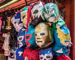 Lucha Libre (JThompson88) Tags: 2016 california la losangeles summer lucha libre wrestling masks costume canon canon7dmk2 street culture mexican mexicano mexicana vendor city travel