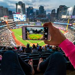 Petco Park (Chad McDonald) Tags: baseball petcopark padres mlb playoffs interesting sandiego ca california iphone game