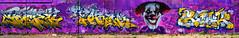 Jamen   Torek    Depro   Reak (HBA_JIJO) Tags: streetart urban graffiti vitry vitrysurseine art france hbajijo wall mur color painting letters torek peinture lettrage clown lettres writer paris94 spray prode jamen lettrring depro reak panorama charactere perso