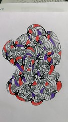 #doodle #doodles #zentangle #zendoodle #motif #patterns #colouredpatterns #randomdrawing #randompattern #coloredzentangle #colouredzentangle (Neha Ilangovan) Tags: zendoodle patterns doodles coloredzentangle randompattern zentangle colouredzentangle colouredpatterns randomdrawing doodle motif
