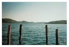 lago d'orta (Eva Eysermans) Tags: disposable analogue analog lake italy milan poles water kodak sunlight summer