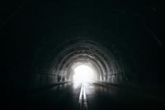Through the tunnel (bradleysiefert) Tags: appalachianmountains ashevillearea blueridgeparkway northcarolina pisgahnationalforest forest road smoky stateforest tunnel canton unitedstates us