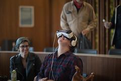bc_VRbryn_brieedellarocca-3 (Bennington College) Tags: benningtoncollege alumnifamilyweekend virtual reality virtualreality ryot
