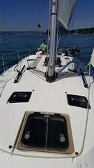 Segelwochenende auf dem Bodensee mit Moni & Olaf (Anita und David no longer in Shanghai) Tags: sailing segeln bodensee lakeconstance familie family sailboat segelboot