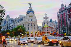 Madrid HDR (rossifumii46) Tags: hdr madrid edificio metropolis rolex gran via d5300 nikon