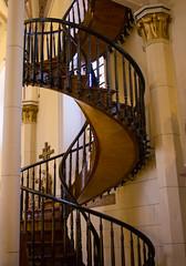 Loretto Chapel (K*Adams) Tags: loretto chapel church santa fe new mexico staircase sanctuary