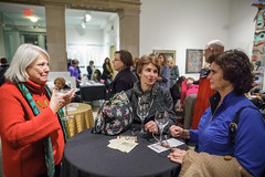 010313_9095_MAM First Thursday (Montclair Art Museum) Tags: art museum paper gallery nightout nj free latenight workshop activity montclair combat veteran georgiaokeeffe artworkshop montclairartmuseum sayawoolfalk veteranart mamfftn freefirstthursdaynights combatpapernj