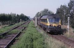 Ruien, aansluiting kolencentrale in 1986 (Ahrend01) Tags: 59 reeks aansluiting ruien