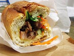Lemongrass Chicken Banh Mi (wEnDaLicious) Tags: sandwich queens vietnamesefood banhmi joju elmhurst lemongrasschicken