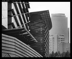 _RX100_DSC1380bw copy (mingthein) Tags: blackandwhite bw abstract building monochrome architecture geometry availablelight sony bank malaysia form kuala kl ming lumpur negara kijang onn sasana rx100 thein photohorologer mingtheincom