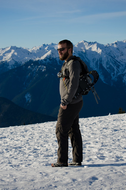 Hurricane Ridge Hiker