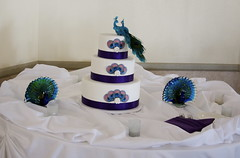 Peacock wedding cake (jennywenny) Tags: admiralkidd peacockweddingcake