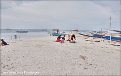 Children, obey your parents .... (pickled_newt) Tags: beach boats philippines cebu filipinos banka malapascuaisland centralvisayas baroto