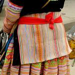 Flower Hmon clothing detail. thumbnail