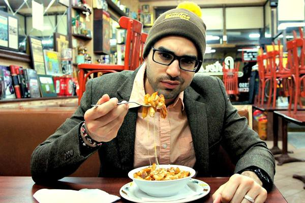 Na'eem Adam, founder of Poutine Week (photo by: Na'eem Adam)