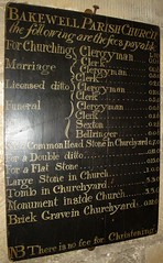 [13641] Bakewell : no fee for Christening (Budby) Tags: church derbyshire peakdistrict bakewell peaknationalpark