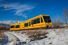 Train Jaune en Osséja