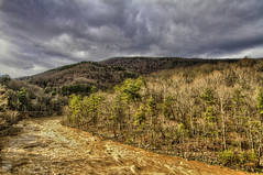 Muddy Maury (konrad_photography) Tags: river virginia kayak flood lexington pass va muddy hdr maury goshen