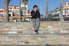 (JohnathanLobel) Tags: california leica portrait me digital 35mm stones streetphotography biting summicron skater huntingtonbeach asph