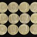 5016. Uncirculated Roll of (20) 1964 Kennedy Halves