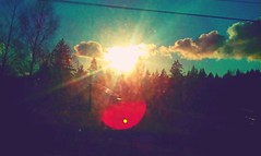 Sun in my eyes (Jarbles17) Tags: nature clouds outdoors washington capturedmoments capturedmoment androidography streamzoo