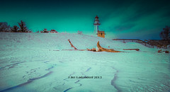 Whitefish Point Lighthouse (HikingJoe) Tags: winter lighthouse snow ice michigan upperpeninsula lakesuperior whitefishpoint