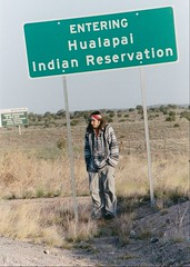Hualapai Indian Reservation-Arizona (1coffeelady) Tags: hualapaiindianreservation peachspringsarizona route66 route66roadtrip route66travel arizona travel scenic roadsign nativeamerican themotherroad hualapaination hualapainativeamerican westernnativeamericanreservations
