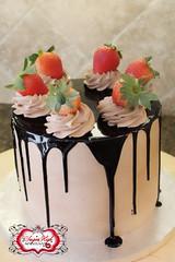 I'm Sexy and I know it! (SugarHigh Maintenance) Tags: cake chocolate ganache strawberries mocha drizzle