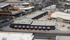 Former Holy Cow / Foxy's Firehouse casino (Clarke's County) Tags: las vegas building cow north demolition casino holy strip brewery firehouse foxys