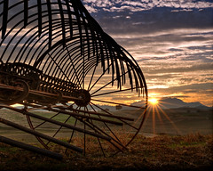 Spokes (mikeSF_) Tags: california ranch county sunset horse costa sun tractor tree mike field grass wheel metal rural sunrise golf landscape photography star rust mt pentax antique farm country spokes machine course deer equipment mount rake valley lone diablo 1960s hay drawn buck brentwood limited mapping antioch tone sweep contra hdr starburst roddy k5 sunstar implement balfour oria fa31 httpmikeoriazenfoliocom