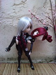 Romantic dolls (Lilith In tenebris ) Tags: rabbit love queen romantic pullip ichi lunatic s taeyang domition infera